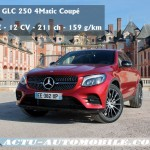 essai mercedes classe glc 250d 4matic executive actu automobile. Black Bedroom Furniture Sets. Home Design Ideas