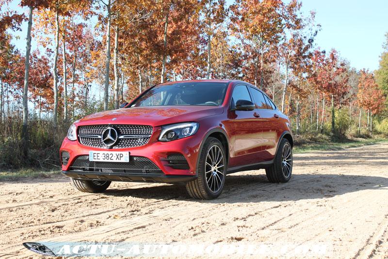 Mercedes GLC Coupé hors bitume