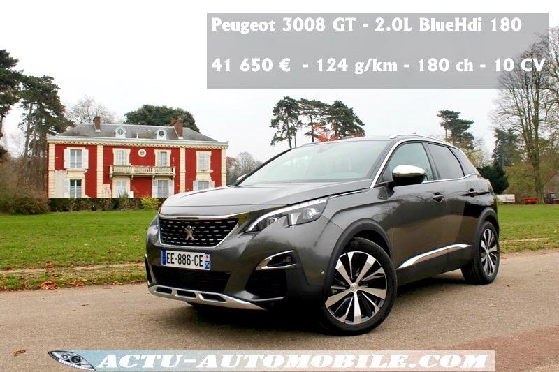 essai nouveau Peugeot 3008