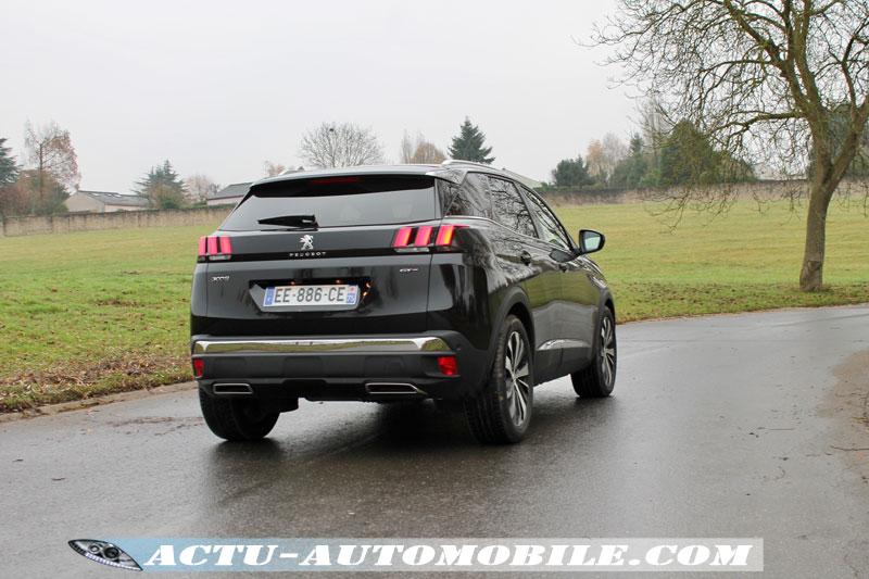 Comportement routier 3008 GT