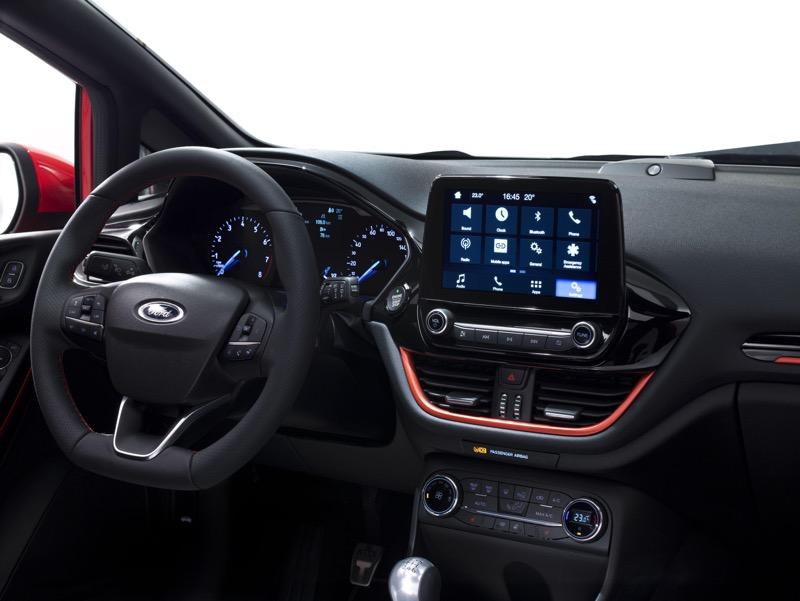 Intérieur Ford Fiesta 2017