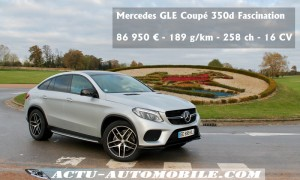 Mercedes GLE Coupé 350d 4MATIC - Fascination