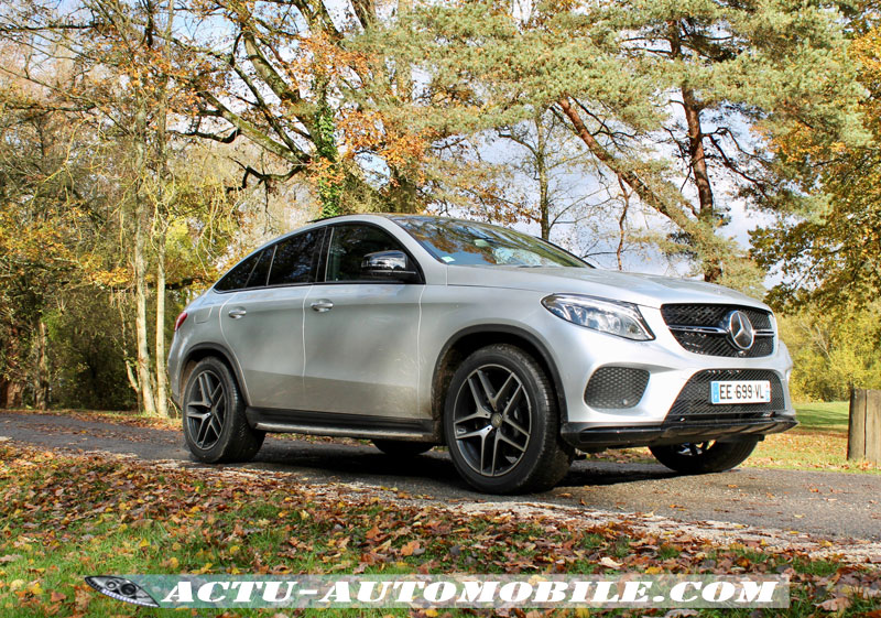 essai mercedes gle coup 350d 4matic fascination actu automobile. Black Bedroom Furniture Sets. Home Design Ideas