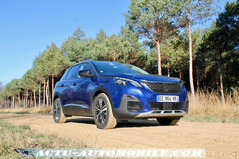 Motorisation BlueHdi 120 - nouveau Peugeot 3008