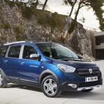 Dacia Lodgy Stepway 2017 : les nouveautés
