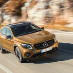 Mercedes GLA restylé : les photos