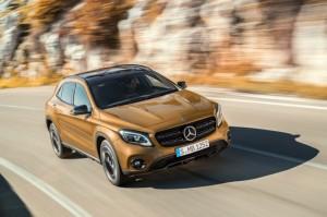 Mercedes GLA restylé