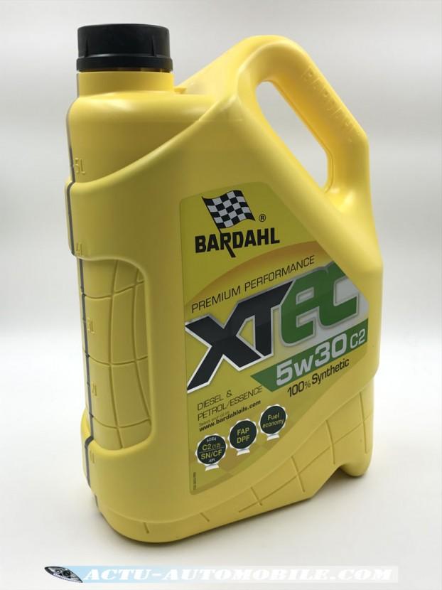 Huile XTEC 5W30 C2 - BARDAHL