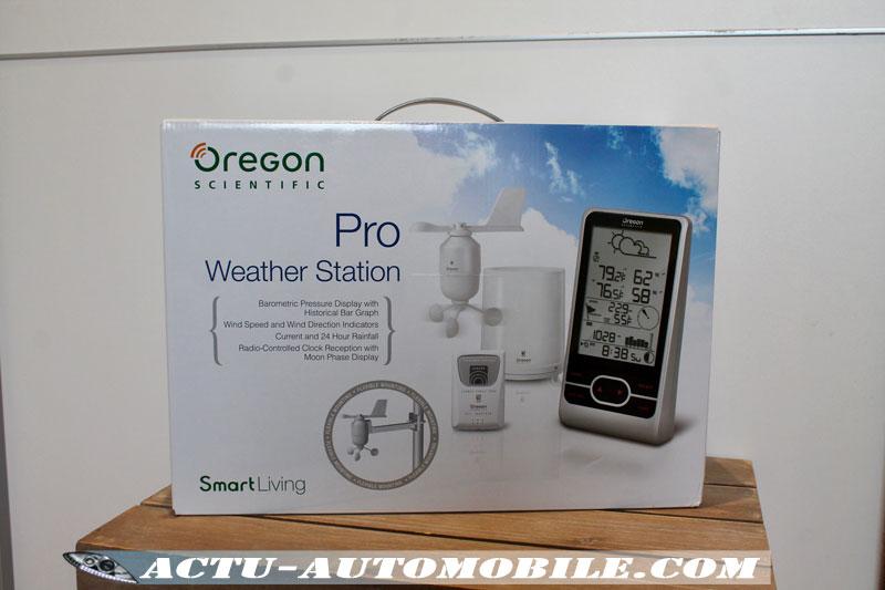 Prévisions météorologiques Station WMR86N