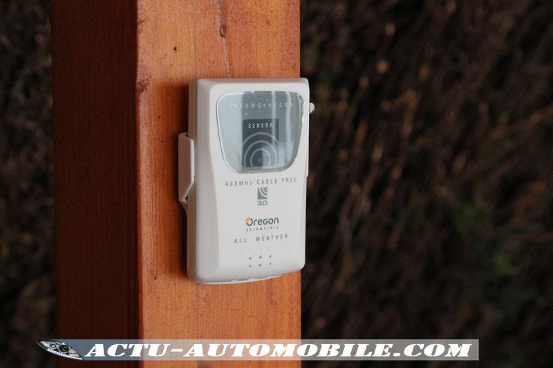 Sonde de témpérature & d'humidité extérieure Oregon Scientific