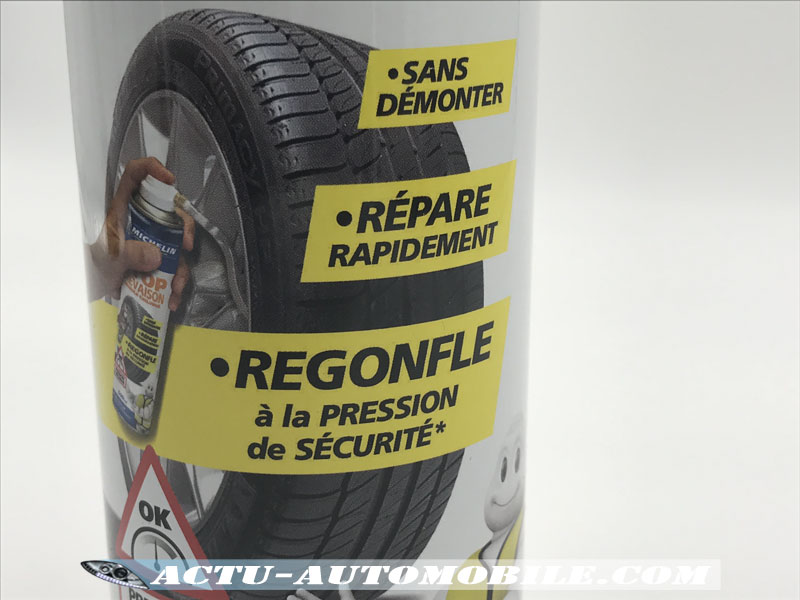 STOP Crevaison Michelin