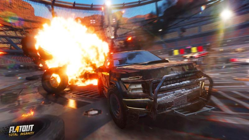 Test FlatOut 4 Total Insanity sur PS4