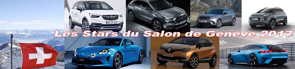 Les nouveautés du Salon de Genève 2017