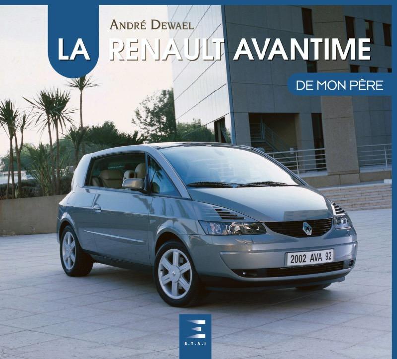 Livre : La Renault Avantime de mon père