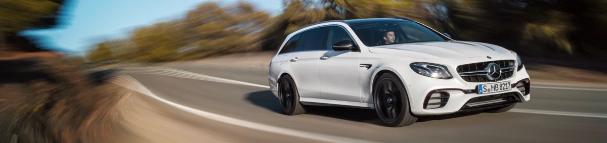 Mercedes-AMG E63 4Matic+ Break : jusqu'à 612 ch !