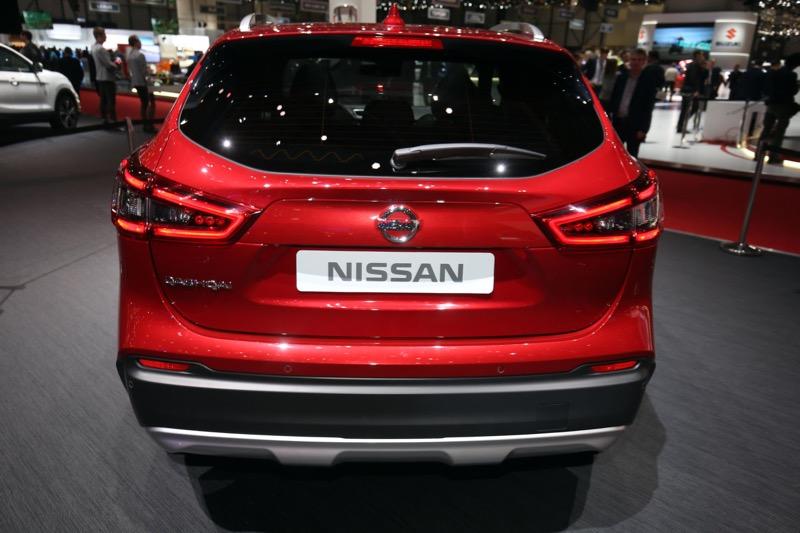 Nissan Qashqai restylé