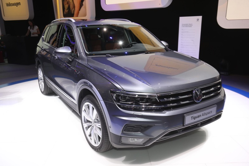 gen ve 2017 volkswagen tiguan allspace actu automobile. Black Bedroom Furniture Sets. Home Design Ideas