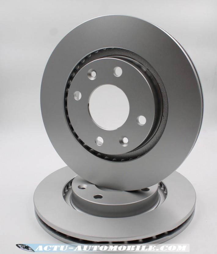 La qualité de fabrication des disques de frein Bosh est de très belle facture.