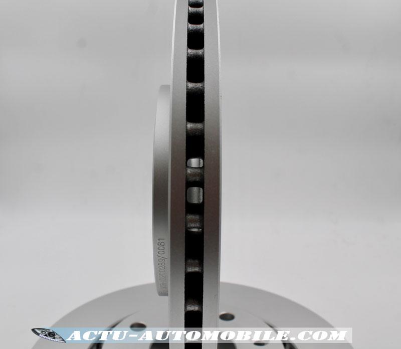 Ventilation interne disque de frein Bosch