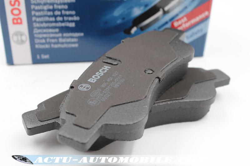 Plaquettes de frein pour disque avant Bosch