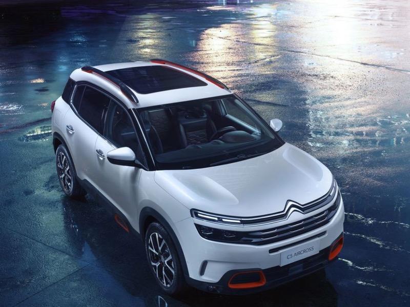 Nouveau Citroën C5 Aircross — Shanghai