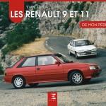 Livre : les Renault 9 et 11 par Yann Le Lay