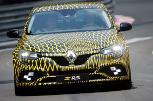 nouvelle Mégane RS 300 EDC à Monaco