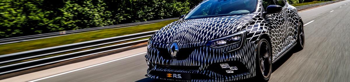 Nouvelle Renault Mégane RS 2018