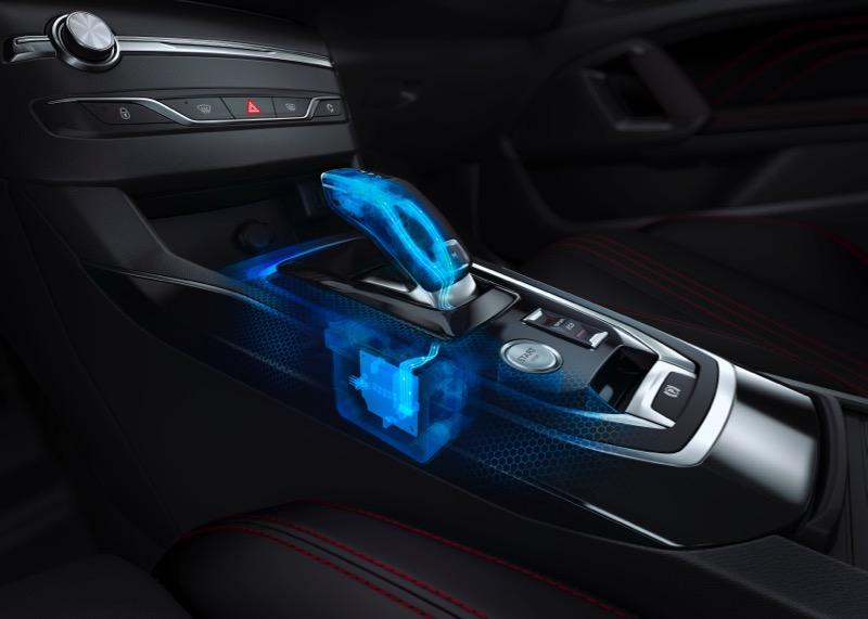 Nouvelle boite EAT8 sur Peugeot 308