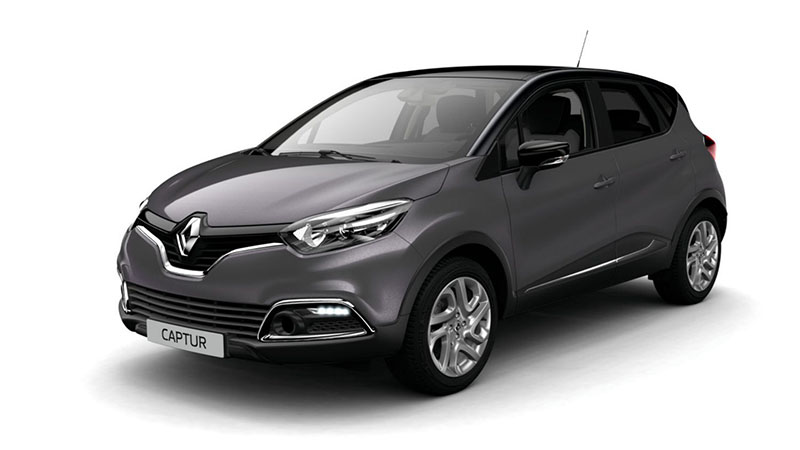 s rie limit e renault captur cool grey actu automobile. Black Bedroom Furniture Sets. Home Design Ideas