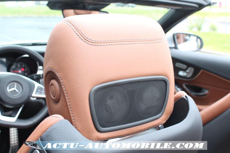 Système Aircsaf Mercedes Classe C Cabriolet