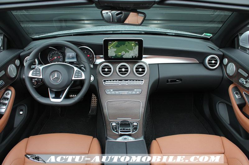 Habitacle Mercedes Classe C Cabriolet