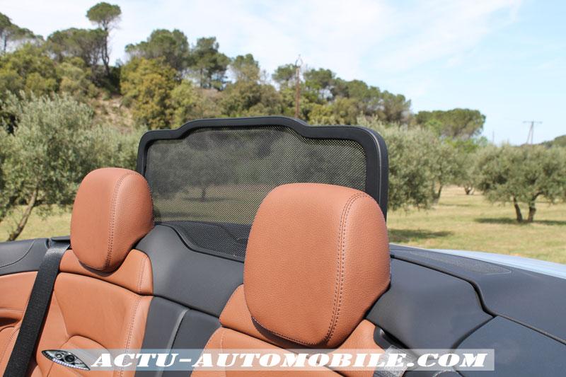 Système Aircap Mercedes Classe C Cabriolet