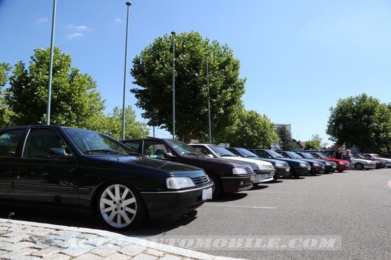 Reportage : les 30 ans de la Peugeot 405 à Sochaux