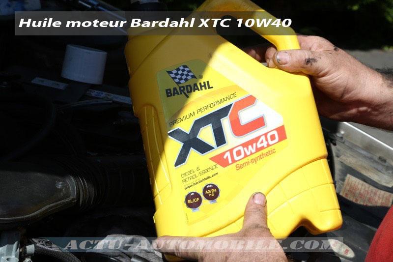 Révision d'une voiture ancienne avec des produits Bardahl
