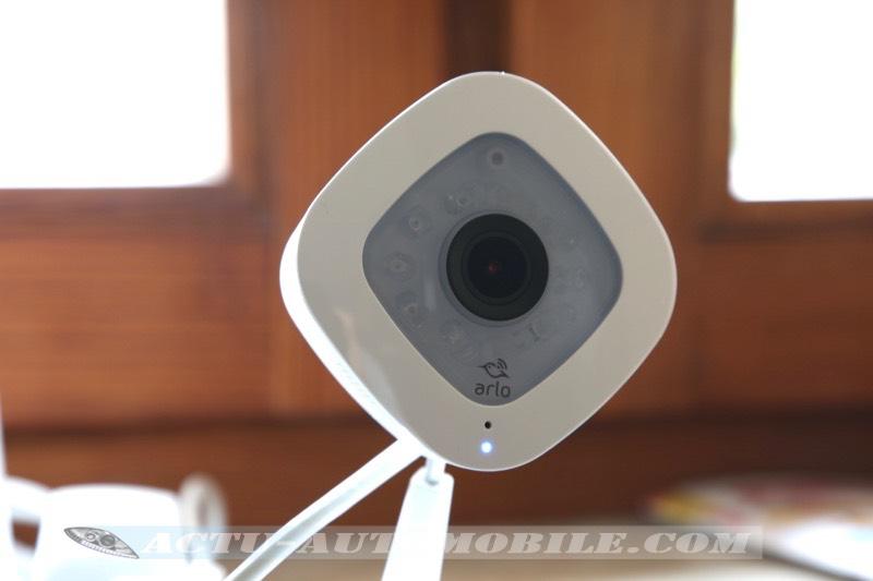 Caméra Arlo Q Plus activée