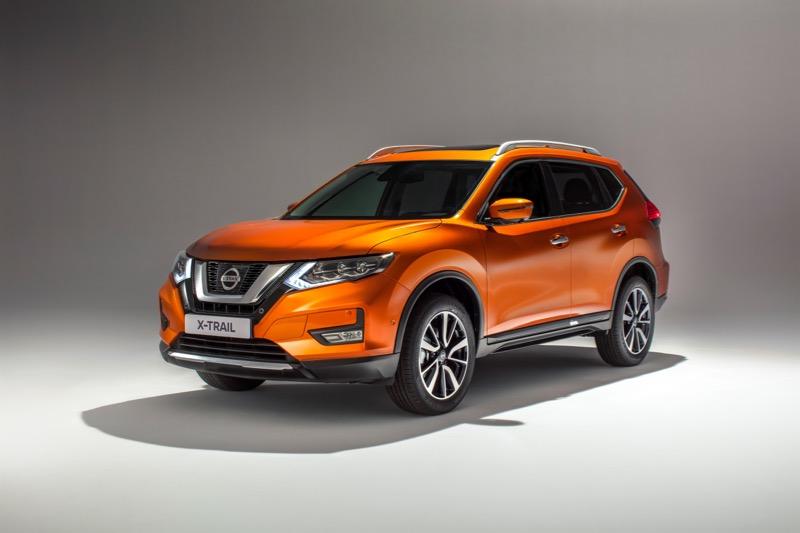 Le Nissan X-Trail restylé pour 2017