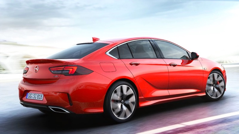Nouvelle Opel Insignia GSI