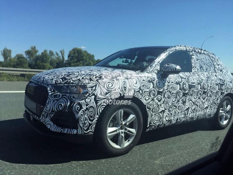 L'Audi Q3 2018 surpris par motor.es