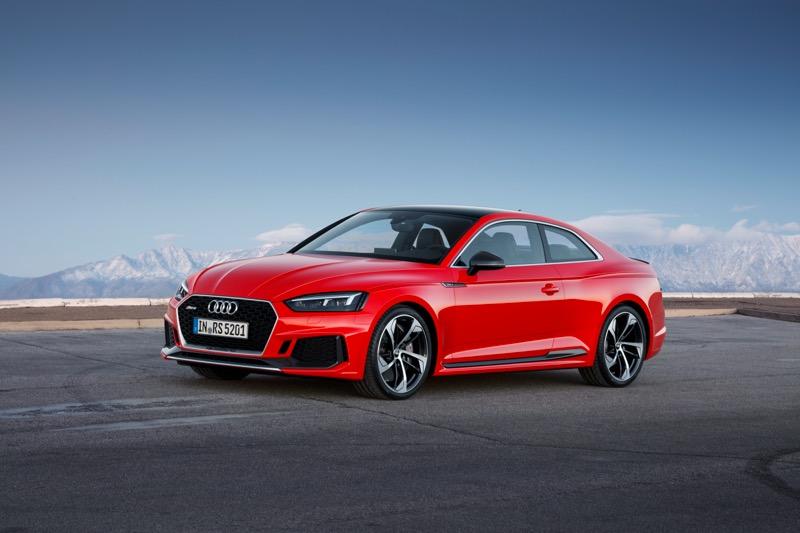 Nouvelle Audi RS 5 Coupé 2017