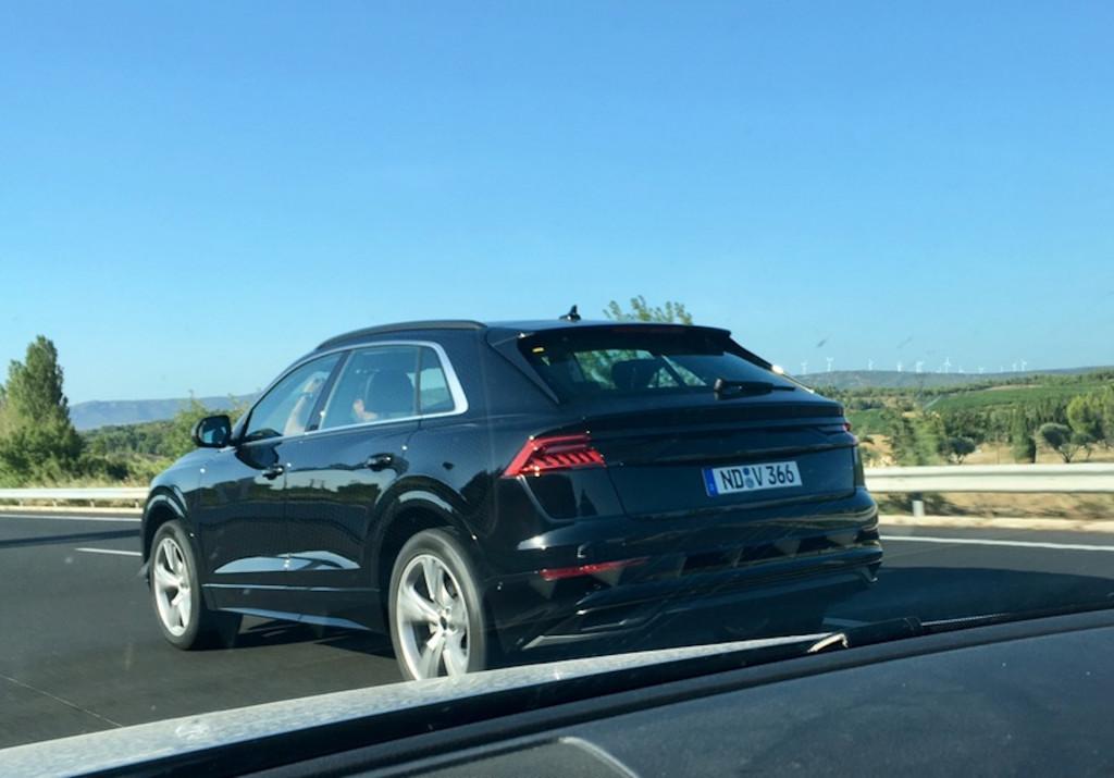 Audi Q8 Spy Shot Sans Camouflage Actu Automobile