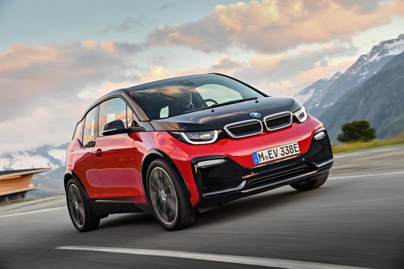 Nouvelles BMW i3 et i3s