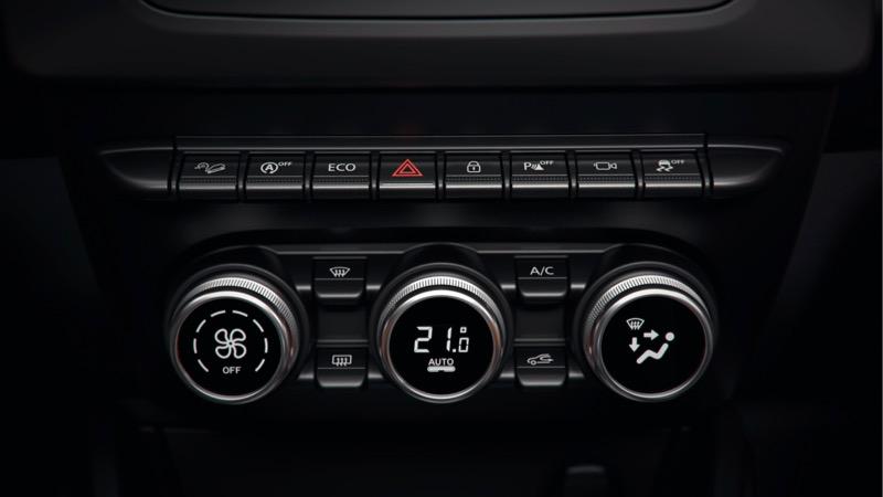 L'intérieur du nouveau Dacia Duster