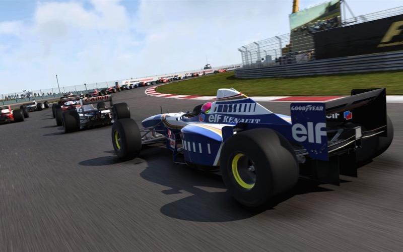 Test F1 2017 sur PS4