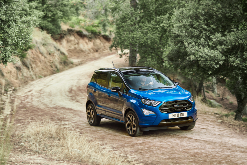 Ford Ecosport restylé