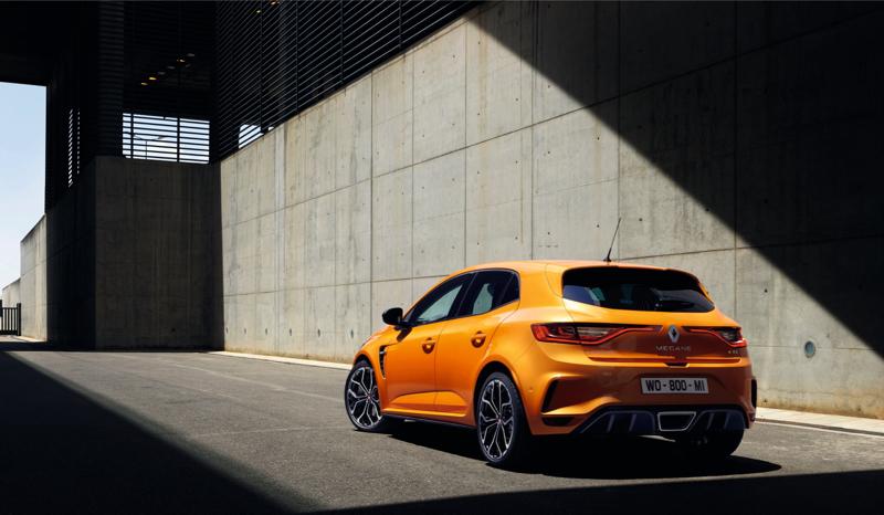 Nouvelle Renault Mégane R.S. 2018