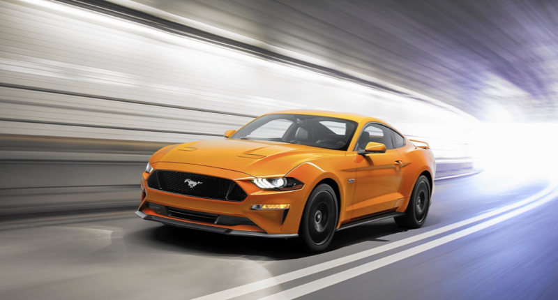 Nouvelle Ford Mustang 2018