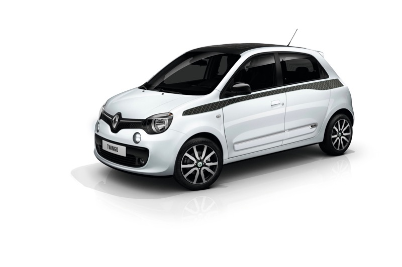 s rie limit e renault twingo la parisienne actu automobile. Black Bedroom Furniture Sets. Home Design Ideas