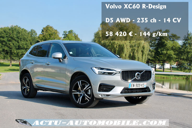 nouveau volvo xc60 r design. Black Bedroom Furniture Sets. Home Design Ideas