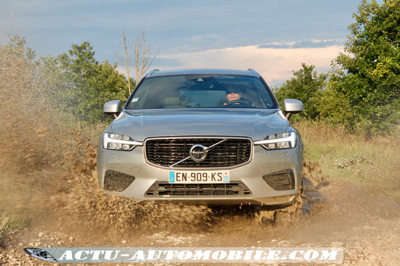 Suspension pneumatique Nouveau Volvo XC60 R-Design